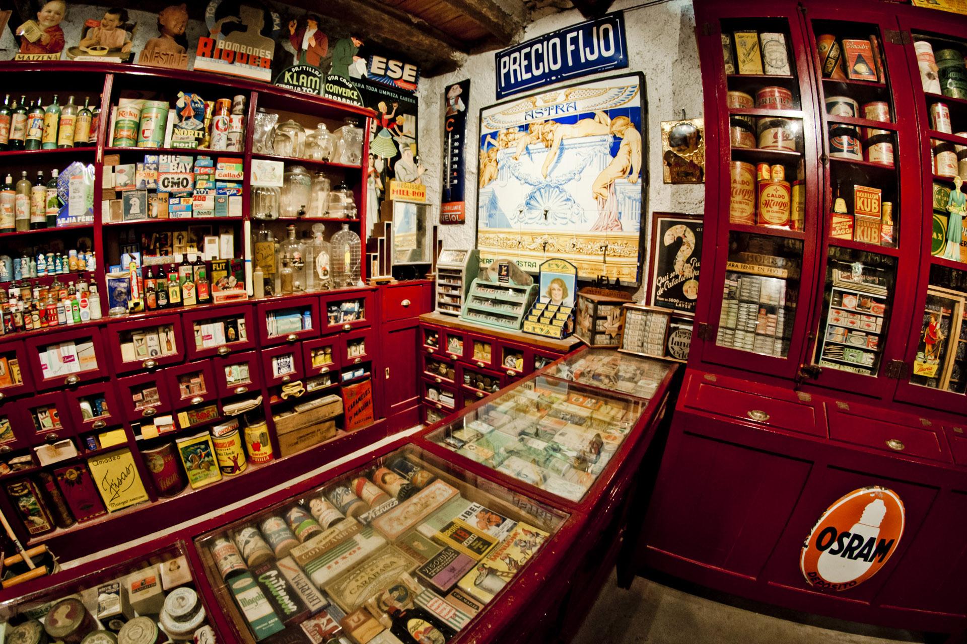 Botigues Museu Salàs de Pallars